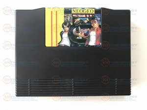 Free shipping Super Neo Geo 161 in 1 Cartridge NEOGEO multi games 161 in 1 AES version arcade game card for AES Family Console(China)