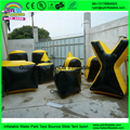 Air Sealed Tank Style Inflatable Paintball Bunker For Paintball Field