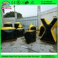 Estilo Tanque de ar Selado Inflável Paintball Bunker Paintball Campo