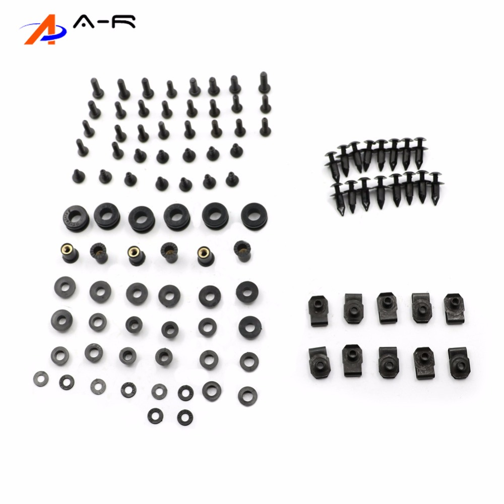 Body Fairing Bolts Nuts Fastener Clips Screws Washer Kit
