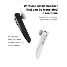 T1 In-ear Stereo Earpiece Wireless Bluetooth Earphone Business Inter-translation 28 National Languages Smart Translation Headset multifunction wireless instant translation business bluetooth in ear earphone 16 languages any conversion for ios android
