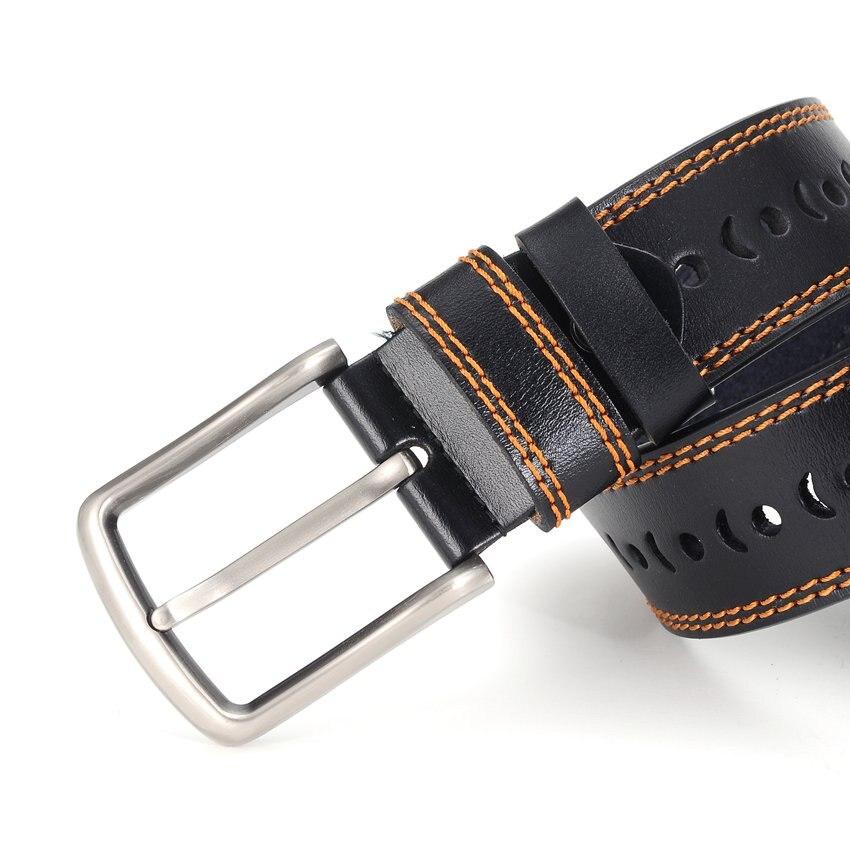 Интимные аксессуары Для мужчин кожаный ремень Лидер продаж! Ремень Для мужчин Ширина: 3.7 см, длина: 110-120 см Черный  кофе  коричневый Цвет мужс...