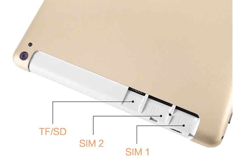 10 inch Tabletten 2GB RAM 32GB ROM Android 9,0 Tablet PC 1280*800 Dual SIM IPS GPS telefon 10,1 Tabletten + 64GB TF Karte