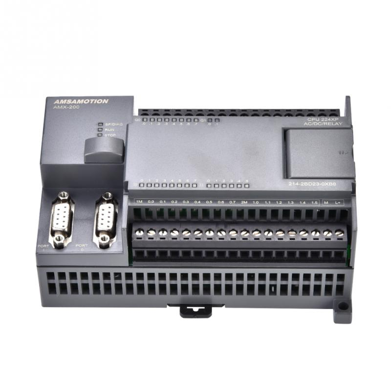 1 PC Programmable Logic Controller PLC Programmable Controller 220V PLC S7-200 CPU224XP RELAY Output usa viscosity cup 4 12mm aperture aluminium alloy ford cup 4 viscosity measurement