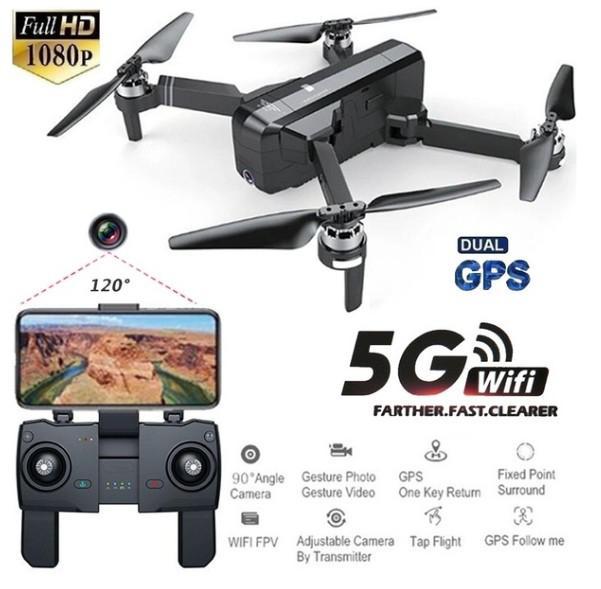 Oyuncaklar ve Hobi Ürünleri'ten RC Helikopterler'de RCtown SJRC F11 GPS 5G Wifi FPV Ile 1080 P Kamera 25 dakika Uçuş Süresi Fırçasız Selfie RC Drone quadcopter'da  Grup 1