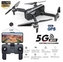 RCtown SJRC F11 GPS 5G Wifi FPV z kamerą 1080 P 25 minut czasu lotu bezszczotkowy Selfie zdalnie sterowany dron Quadcopter tanie tanio Pilot zdalnego sterowania Helikopter Z tworzywa sztucznego Baterie Instrukcja obsługi Ładowarka Ready-to-go About 30m