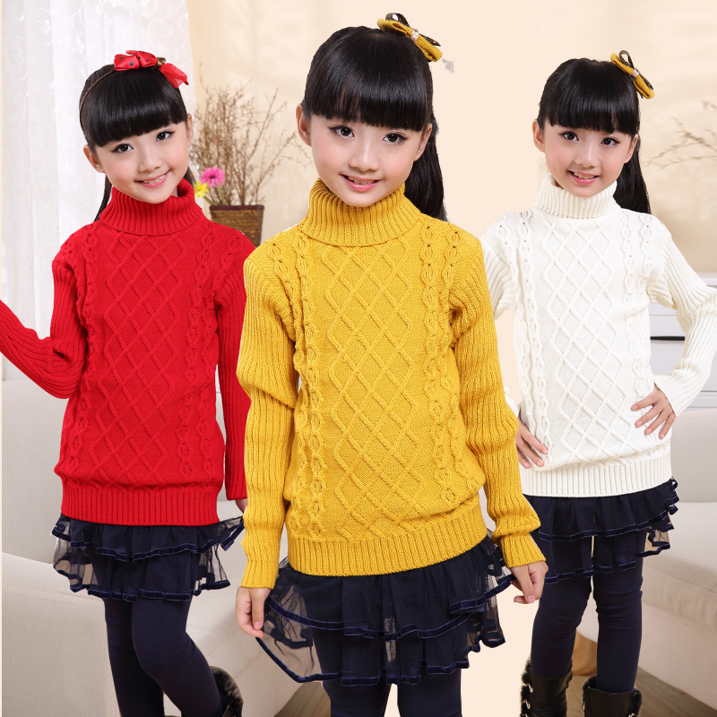 New-Arrival-Children-Sweater-Girls-For-Winter-Turtleneck-Warm-Girls-Children-Sweaters-Preppy-Style-Girl-Boys-Sweaters-Clothing-1