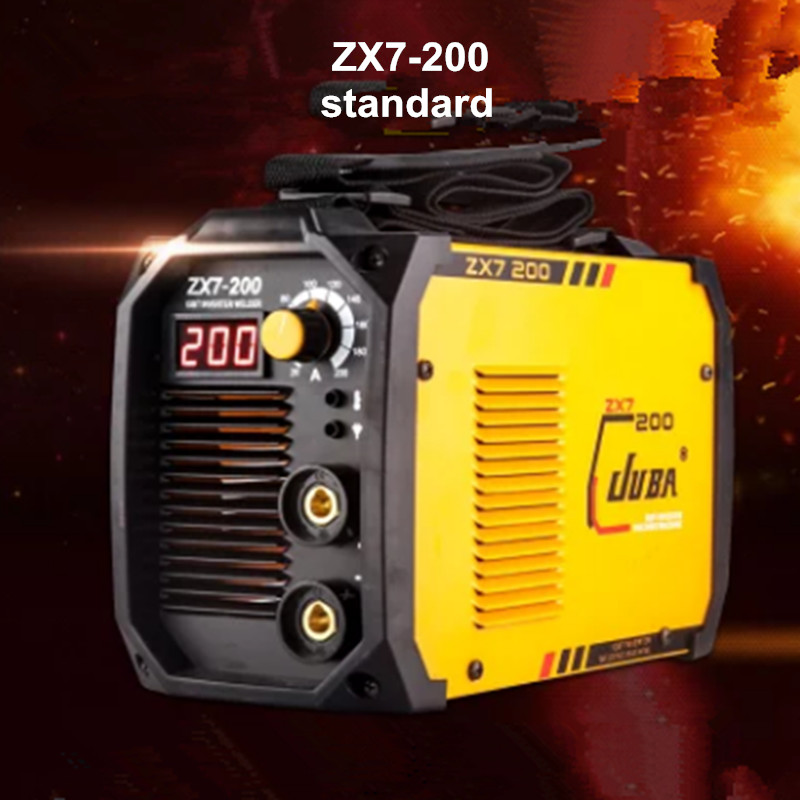 цена на welder IGBT Portable Welding Inverter MMA ARC ZX7-200 welding machine with LED and electrode holder and earth clamp
