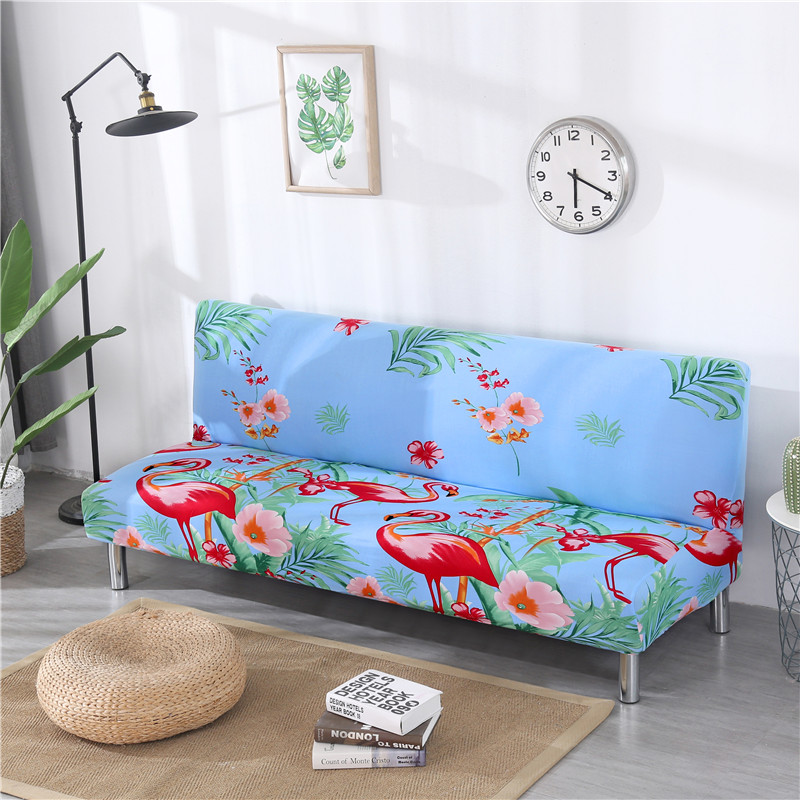 1pc Simple Printing Sofa Bed Cover Elastic Universal All-inclusive Folding Without Armrests Simple Anti-slip Joint Couch Cover 1pc Simple Printing Sofa Bed Cover Elastic Universal All-inclusive Folding Without Armrests Simple Anti-slip Joint Couch Cover