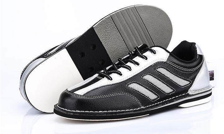 Высокое quatliy Для мужчин Боулинг Мужская обувь противоскользящей подошвой кроссовки натуральная кожа из микрофибры дышащий светоотражающи
