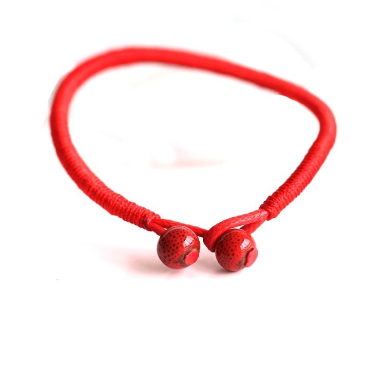 2 Teile / los Mode Roten String Armband Keramik Handgemachte - Modeschmuck - Foto 5