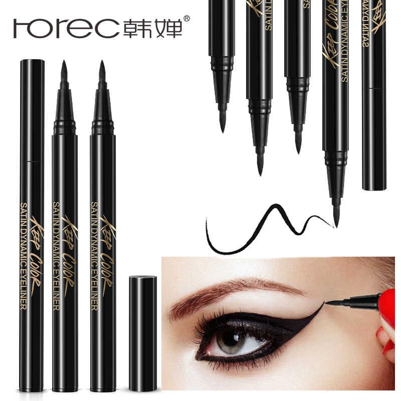 ROREC Enhanced Liquid Eyeliner Sticker Eye Liner Gel Black Eye Pencil Waterproof Sweat Resist Charming Eyeliner Makeup Cosmetic