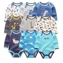 Одежда для новорожденных; летняя одежда из 3 предметов с длинными рукавами; roupa menina; трико детская одежда; комплекты