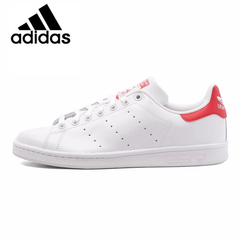 US $58.42 40% OFF|Original Official Adidas Brand Originals Men's Skateboarding Shoes Stan Smith Sneakers Classique Shoes Platform Leisure M20324 in