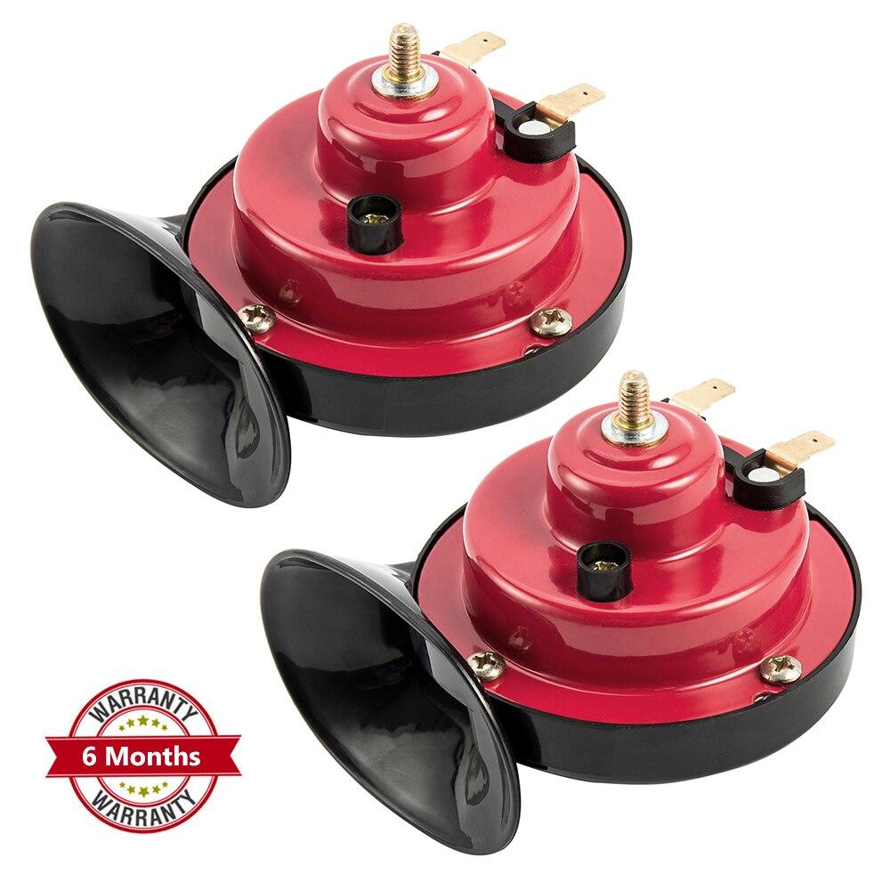 12V Snail Shape Car Horn Loud Car Auto Truck Electric Vehicle Horn Sound Level 110dB