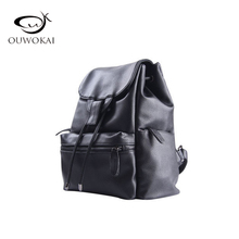 Ouwokai 2017 Для женщин из искусственной кожи школьная сумка женская новая мода мягкий Многофункциональный Водонепроницаемый отдыха и путешествий рюкзак