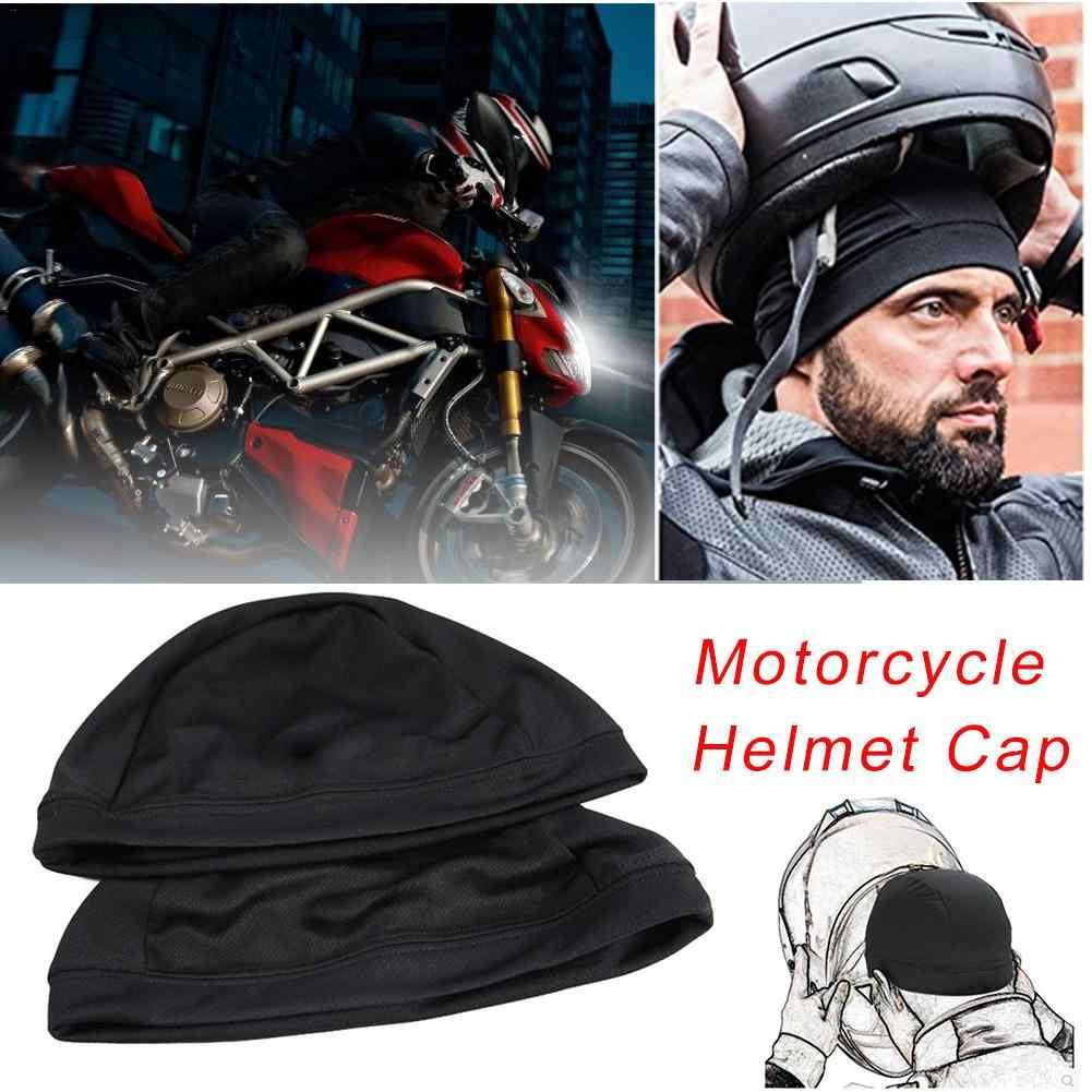 Мотоциклетный шлем Внутренняя крышка быстросохнущая летняя дышащая шляпа велосипедная жокейская шапочка под шлем шапочка для мужчин и женщин