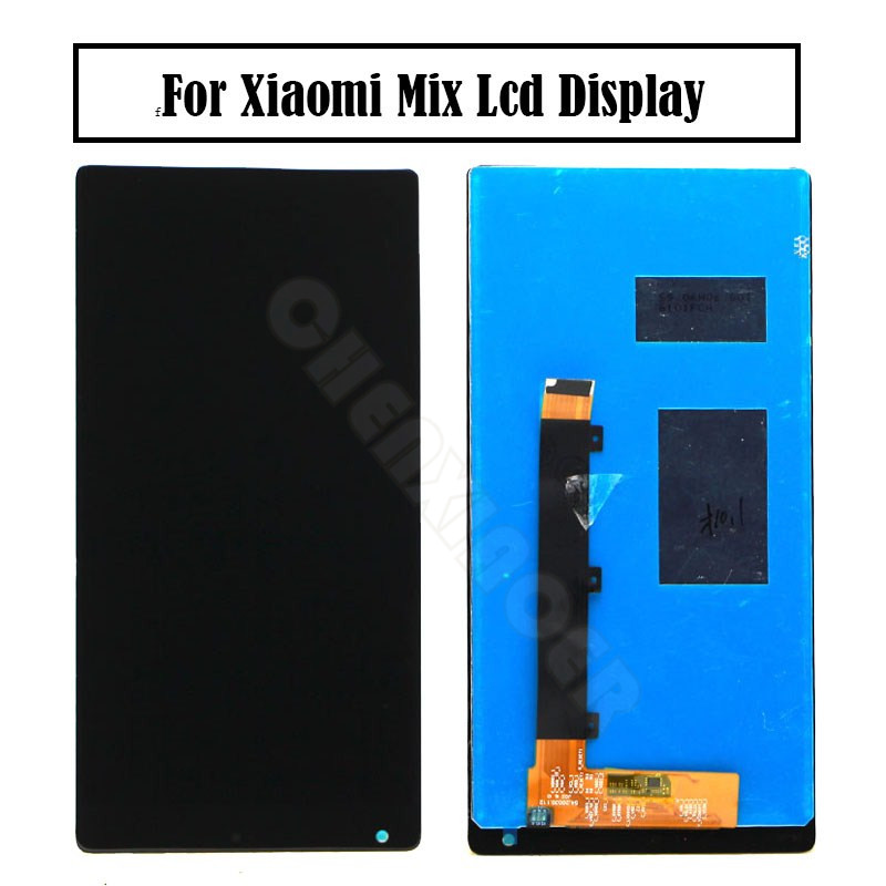 Xiaomi Mi Mix LCD Display Touch Screen Digitizer Assembly With Frame For 6.4 Xiaomi Mi MIX LCD Black/White Replacement PartsXiaomi Mi Mix LCD Display Touch Screen Digitizer Assembly With Frame For 6.4 Xiaomi Mi MIX LCD Black/White Replacement Parts