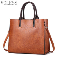 Luxury Handbags Women Bags Designer Famous Brands Pu Leather Bag Casual Women Large Capacity Shopping Bag