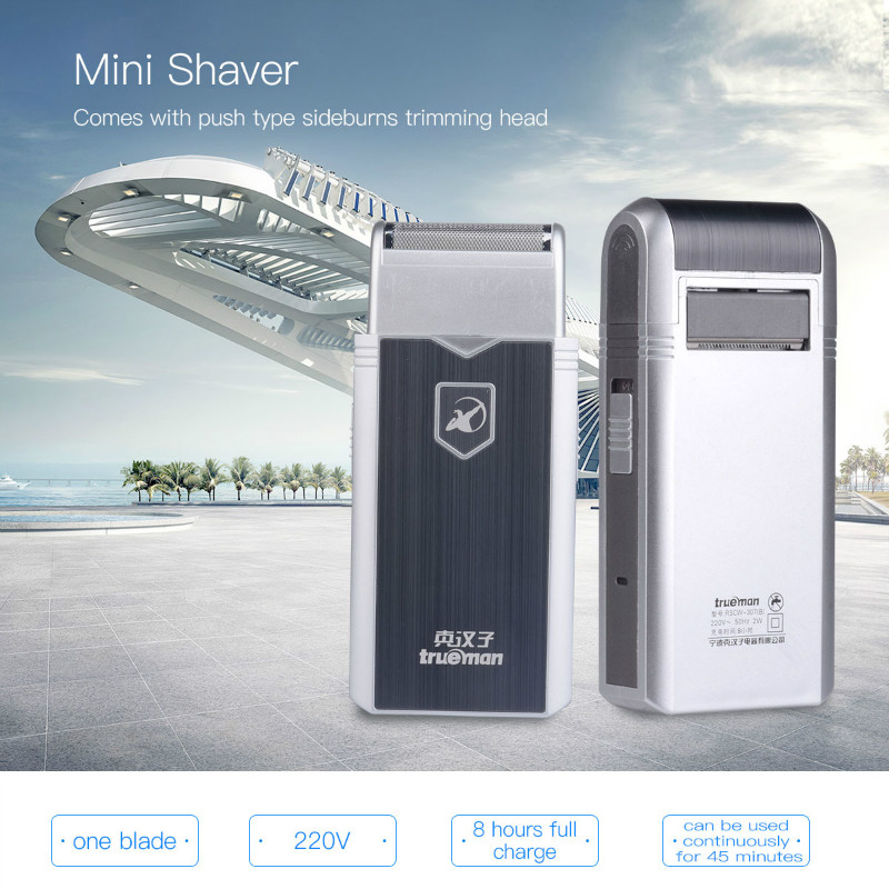 Mini Stainless steel Electric Shaver razor shaving machine Reciprocating Single Blade Rechargeable Razors for Men станок токарный по металлу jet bd 8а