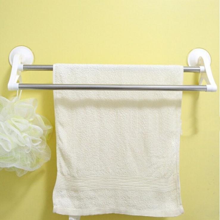 new white bath towel holder with sucker 51 11cm bathroom towel holder for washcloth towels dryer