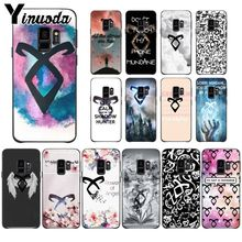 Yinuoda American Tv Series Shadowhunters Shell Phone accessories Case For Samsung Galaxy s9 s8 plus note8 note9 s7 S10lite Cover