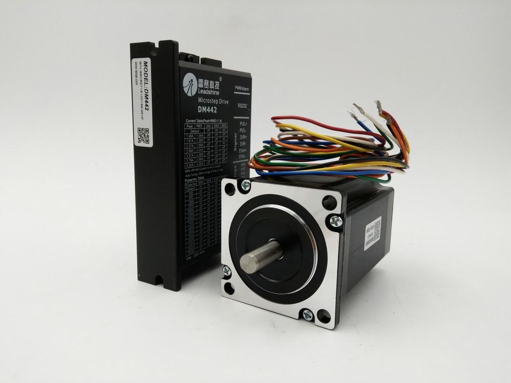 цена на 2 phase motor drive unipolar 198.24(1.4)NM 57HS22-A + DM442 20-40DCV 0.5-4.2A original brand new