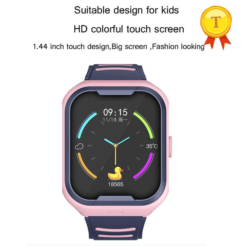2019 Newest arrival Kids Gift video call Smart Watch gps Locator Tracker Anti-Lost Safe SOS GPS Baby Watch Phone For IOS Android