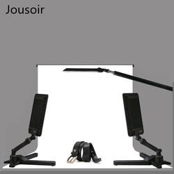 LED flat lamp set with three lights,camera complement, soft light led light kit  CD50