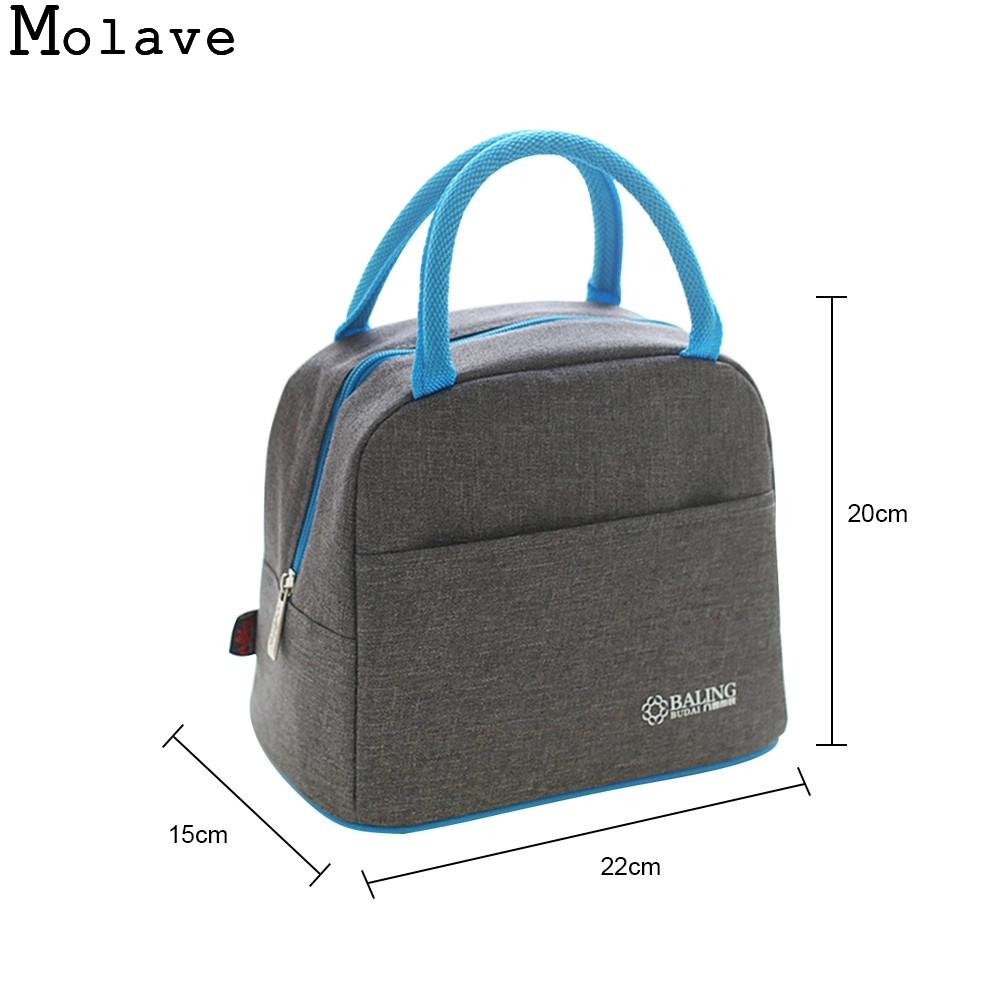 MOLAVE picnic bag Thermal Insulation Cooler Lunch Picnic Bento Box Fresh Keeping Ice Pack picnic bag AP30