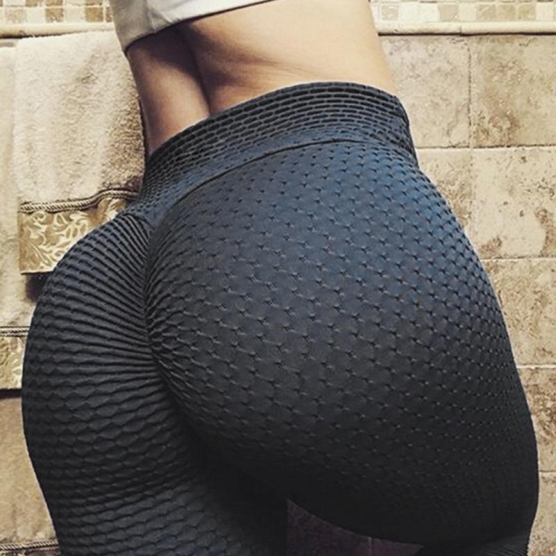 Women Casual High Waist Elastic Skinny Pants Summer Skin Pencil Pants