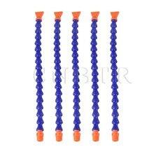 CNBTR 5x Flat Nozzle 1 4 PT Water Oil Coolant Pipe Hose for Lathe Milling CNC