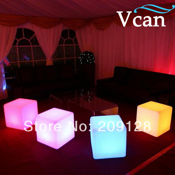 LED Cube lighting for seat 40*40*40cm VC-A400