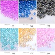 1 Box Caviar Nail Art Mini Bead Rhinestone for Nails Micro Nai Crystal Ball 3D Decorations UV Gel Accessories