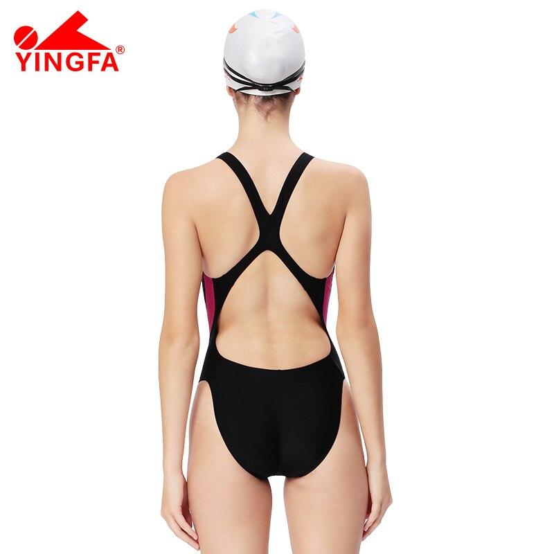 Yingfa One Parça Professional qız yarışları mayo uşaqlar - İdman geyimləri və aksesuarları - Fotoqrafiya 3