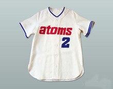 ab75457f925 1966 Replica Sankei Atoms #2 Baseball Jersey Custom Stitched Throwback  Baseball Jerseys Free Shipping Viva Villa