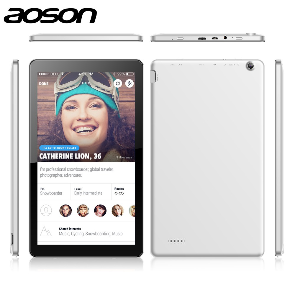 New Released 10 1 inch Octa Core Android font b Tablet b font Aoson M1020 With