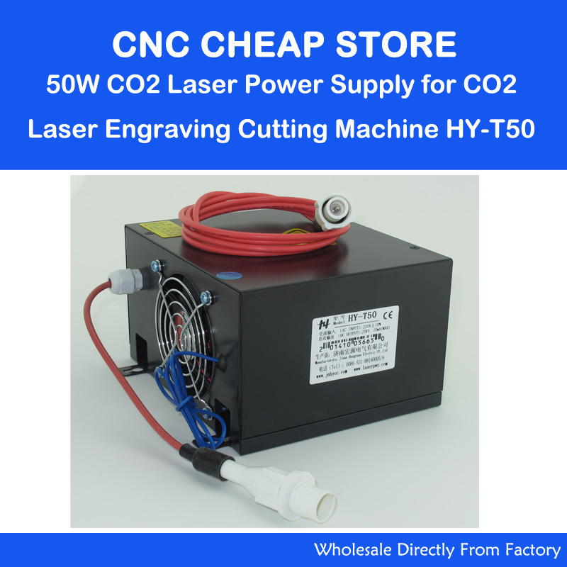 HY T50 220V/110V 40W 50W Tube CO2 Laser Power Supply PSU Equipment DIY Engraver/ Engraving Cutting Laser Machine 3020 3040 3050 dooley j evans v enterprise 4 teacher s book intermediate