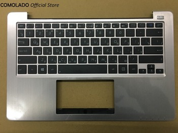 RU Russian keyboard For ASUS VivoBook S200E S200 X202 X202E Russian keyboard Topcase with Cover RU Layout цена 2017