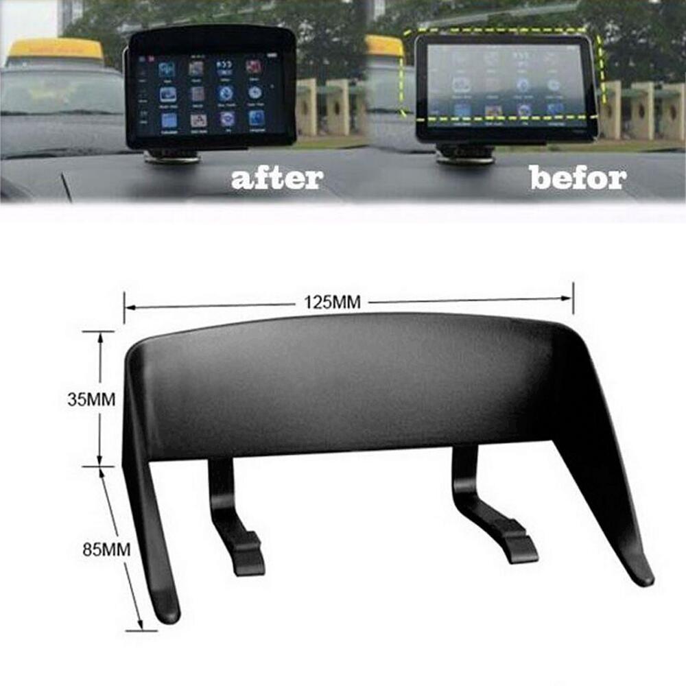 para coche Leobtain Parasol universal de navegaci/ón para coche con GPS antirreflejos y reflectantes