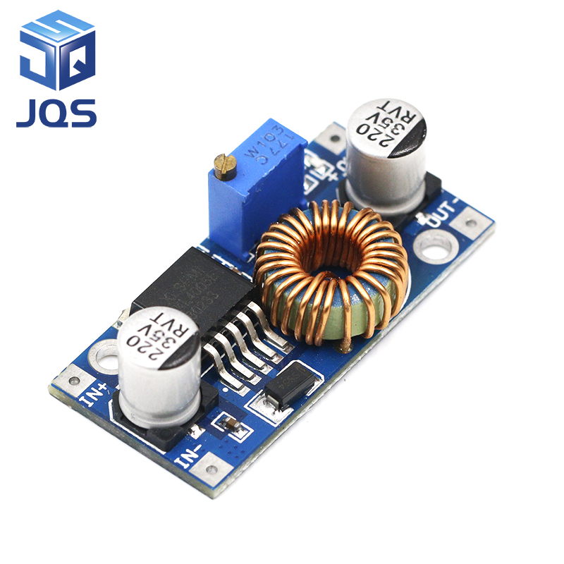 1pcs XL4005 DSN5000 Beyond LM2596 DC-DC Adjustable Step-down 5A Power Supply Module,5A Large Current Large Power