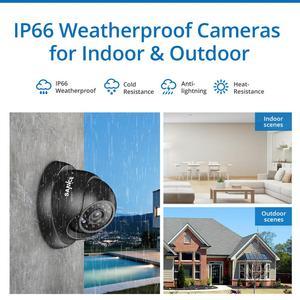 Image 5 - SANNCE 8CH 720P Cctv systeem HD 1080P DVR Kit 6PCS 1.0MP Beveiligingscameras IR nacht waterdichte Surveillance kit
