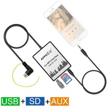 APPS2Car USB SD AUX font b Car b font Mp3 music Adapter font b Car b
