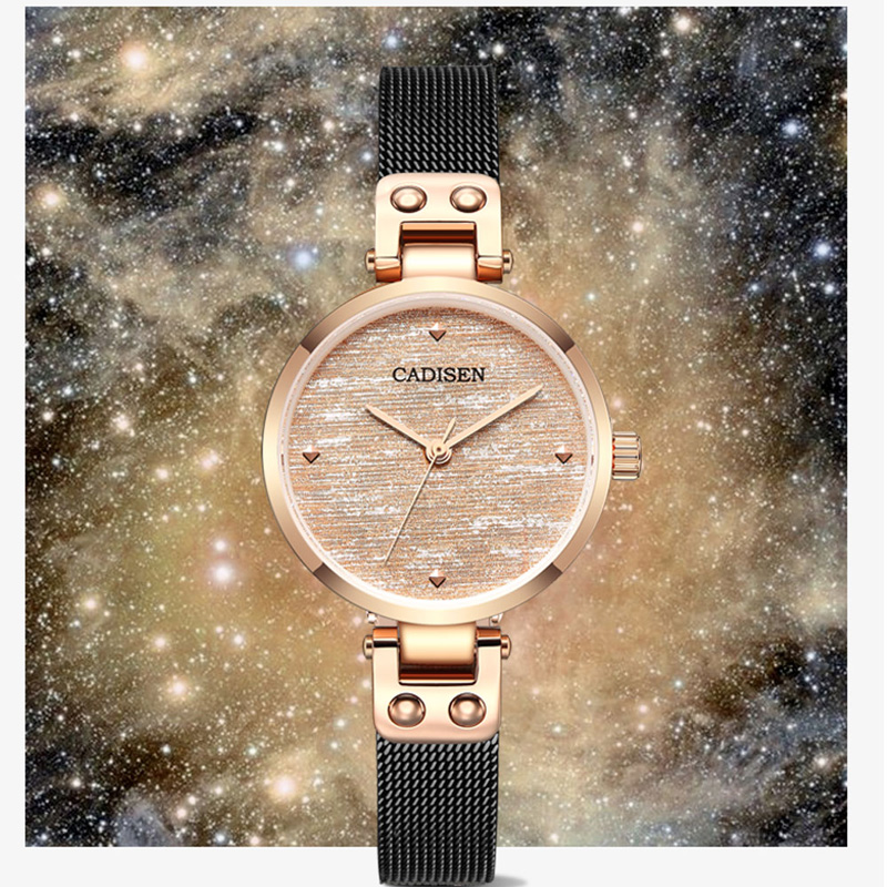 CADISEN 2019 New Women 39 s Watches Luxury Brand Watch Women Fashion Ladies Watch Quartz Wristwatch Gold Women Watches Reloj Mujer in Women 39 s Watches from Watches