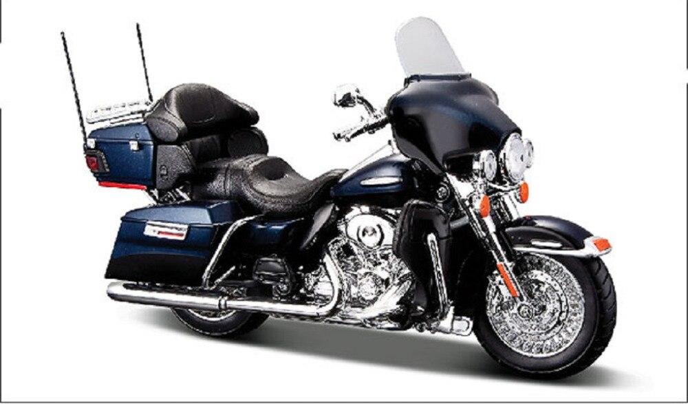 Maisto 1:12 Harley 32329 FLHTK Electra Glide Limited Deep Blue MOTORCYCLE BIKE Model FREE SHIPPING