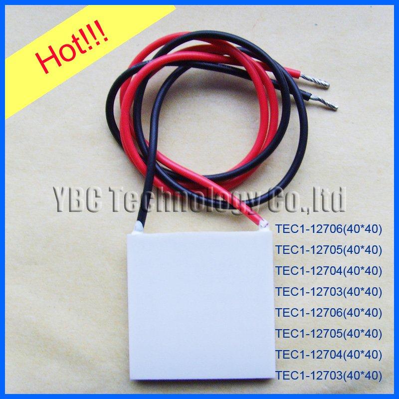 best selling!! 10pcs/lot TEC1-12706 Thermoelectric Cooler Peltier 40*40mm
