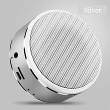 Mp3 Music Player Caixa de Metal Boombox Altifalante Portátil Bluetooth Speaker Boombox USB de Carregamento Sem Fio Indoor 800 mAh Da Bateria