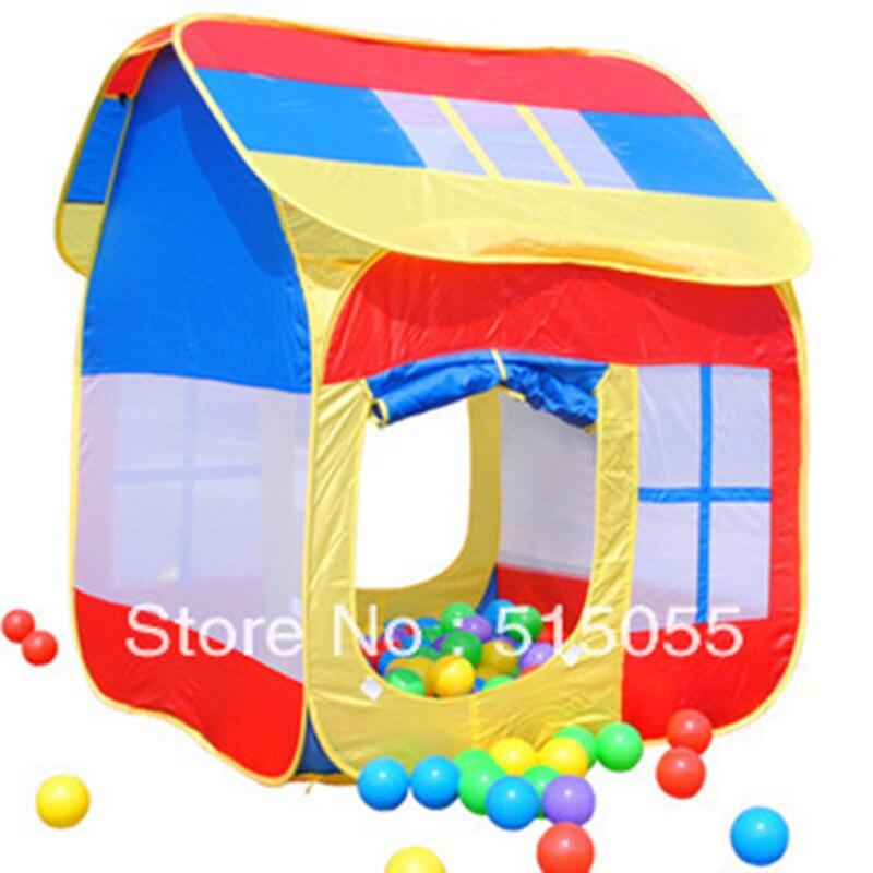 Enfants grand cadeau bonne qualité enfant tente enfants grand jeu maison jouet maison enfants jouer tente ZP2014
