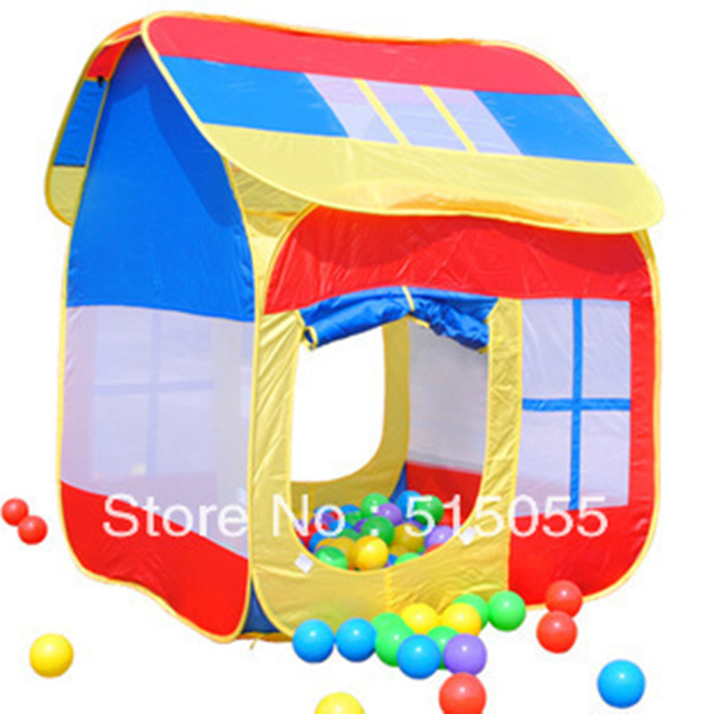 Enfants grand cadeau bonne qualité enfant tente enfants grand jeu maison maison de jouet enfants jouent tente ZP2014