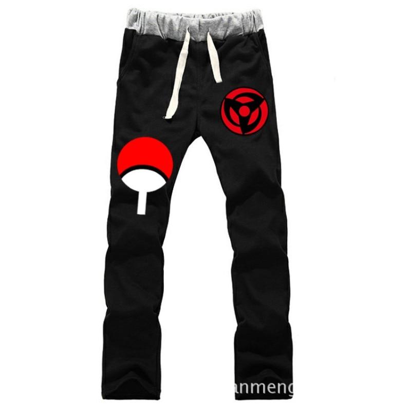 Anime Naruto Sasuke Syaringan LOVERS pantalones de algodón puro - Ropa de hombre - foto 2